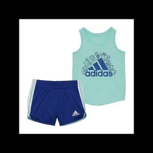 Girl's adidas shorts outfit NWT various sizes